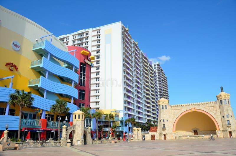 stranddaytona berömda florida royaltyfria foton