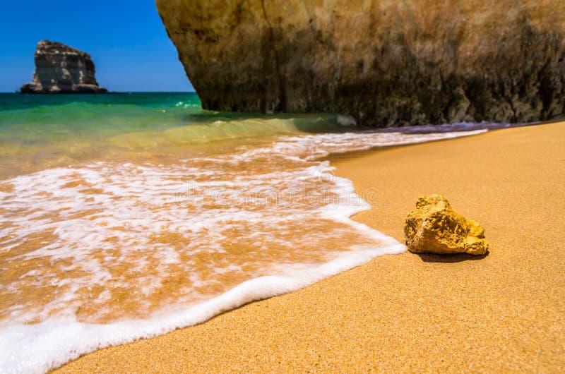 stranden in Algarve royalty-vrije stock foto's