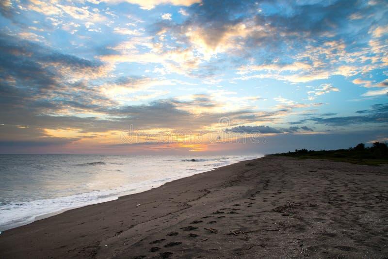 Stranden van Nicaragua royalty-vrije stock fotografie