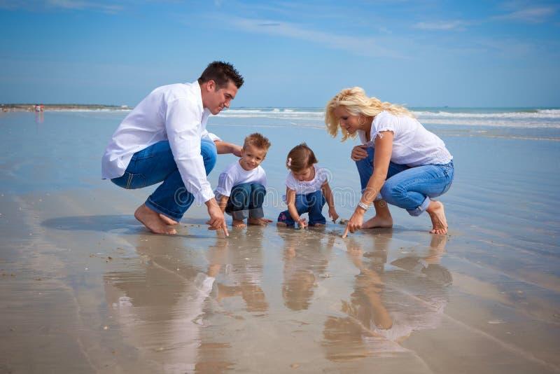 Strandentdeckungen lizenzfreies stockbild