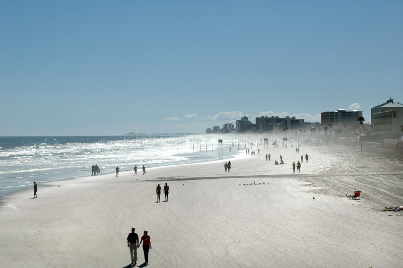 strandfolk arkivfoto