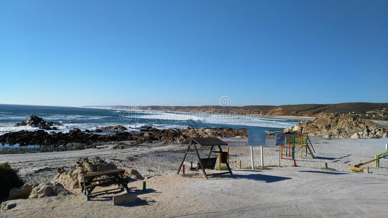 Strandfontein fotografia stock