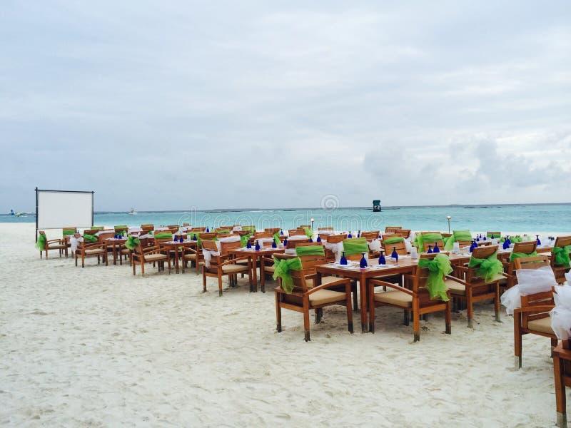 Strandhändelse royaltyfri foto