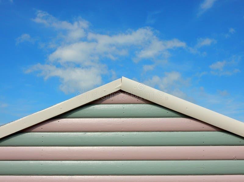 Strandhütte im Sommer lizenzfreie stockfotografie