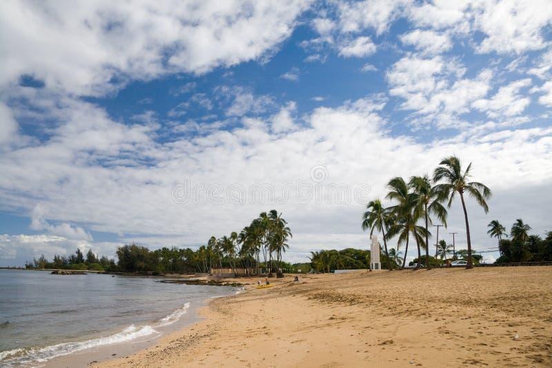 strandhaleiwa arkivbild