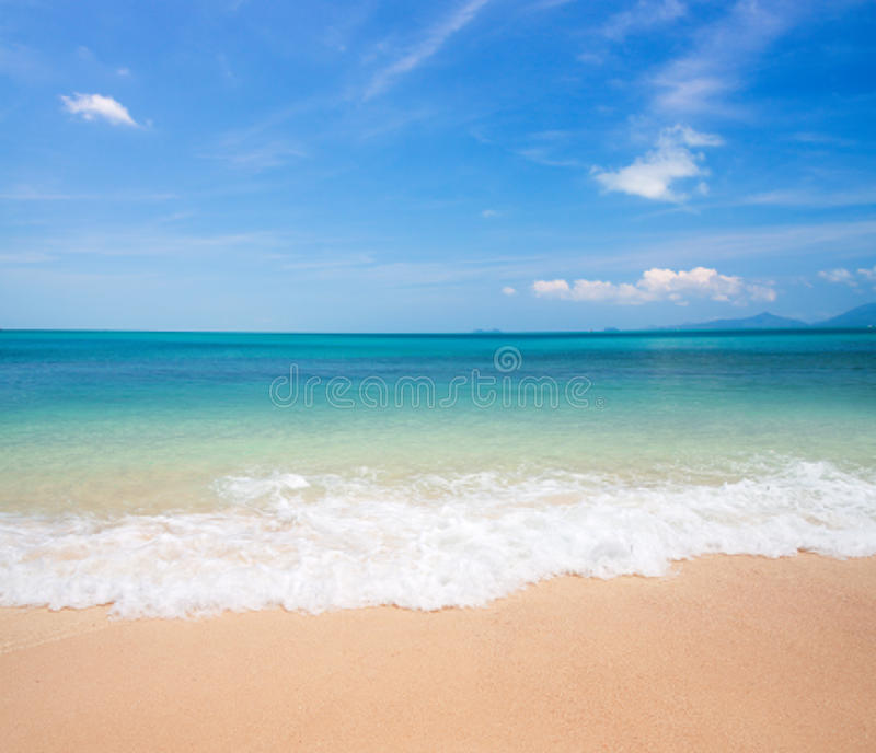 strandhav royaltyfri foto