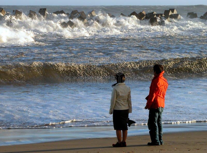 Download Strandhav fotografering för bildbyråer. Bild av seascape - 48205