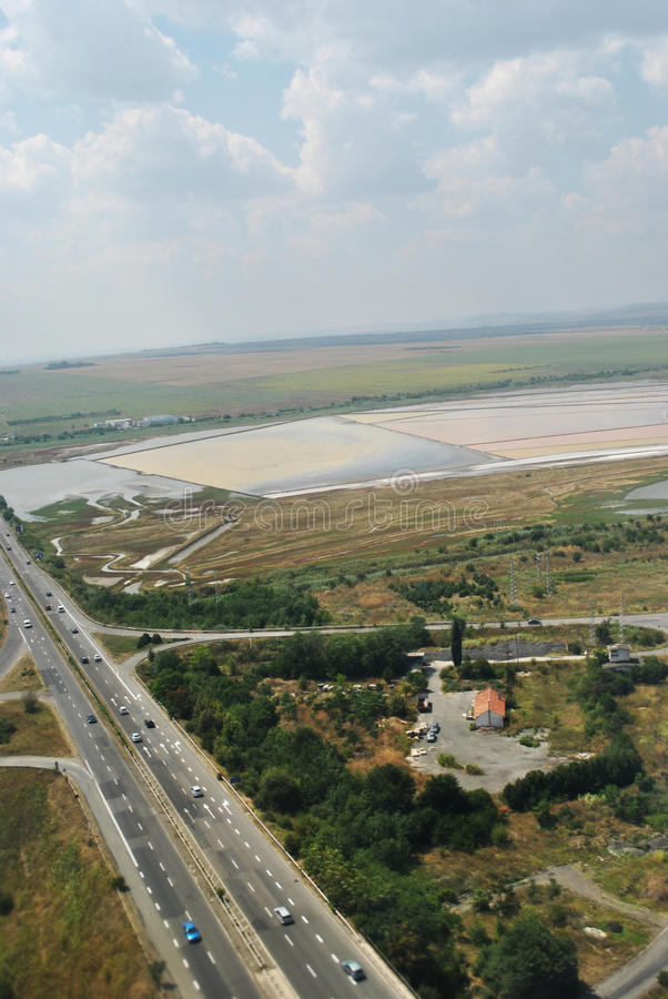 Download Strandja Berg, Bulgarien stockfoto. Bild von field, transport - 90234628