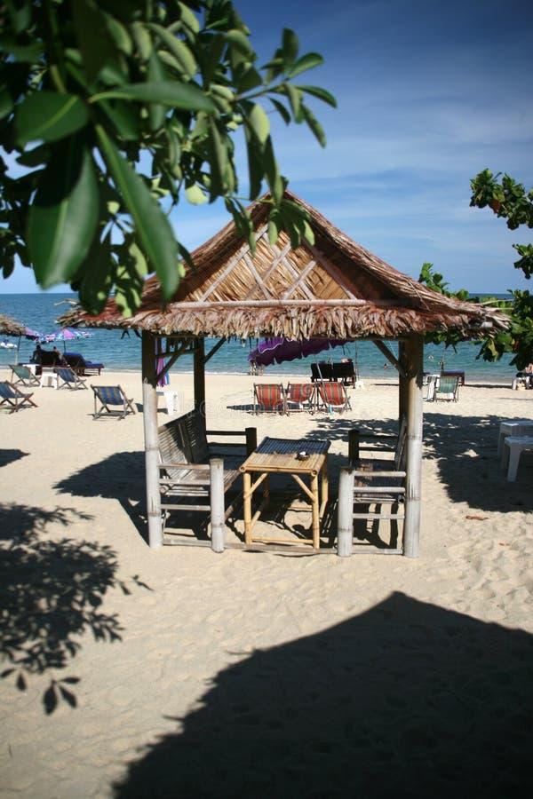 strandkiosk royaltyfria bilder