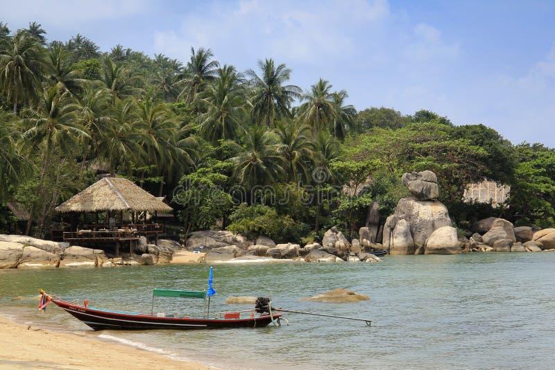 strandkohsemesterort tao thailand royaltyfri foto