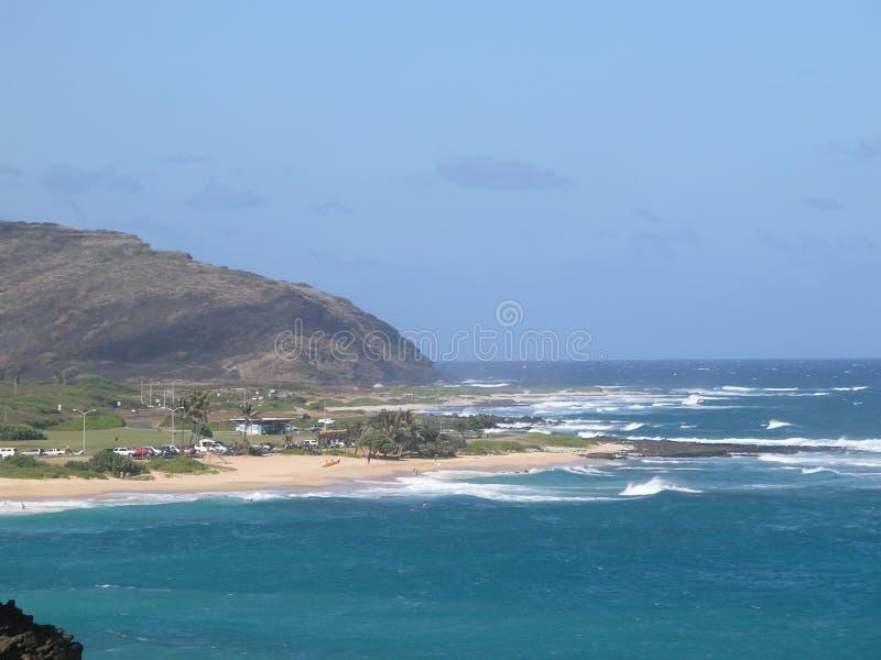 Strandkust stock afbeelding