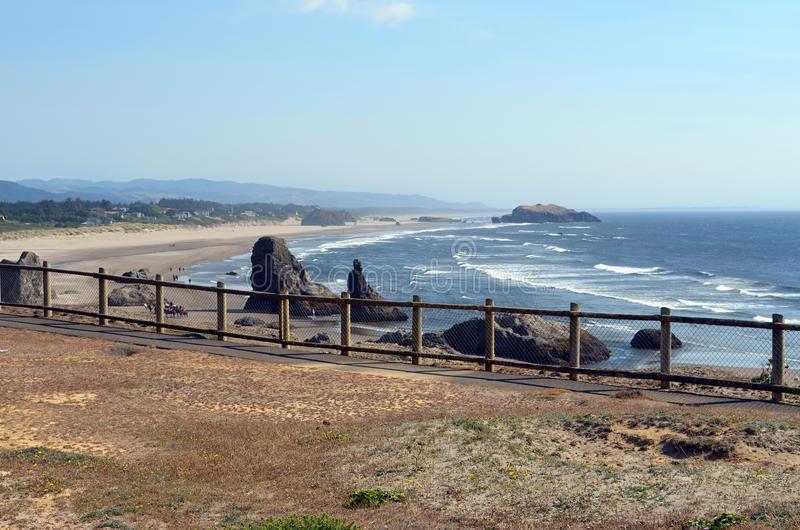 Strandkustlijn stock fotografie