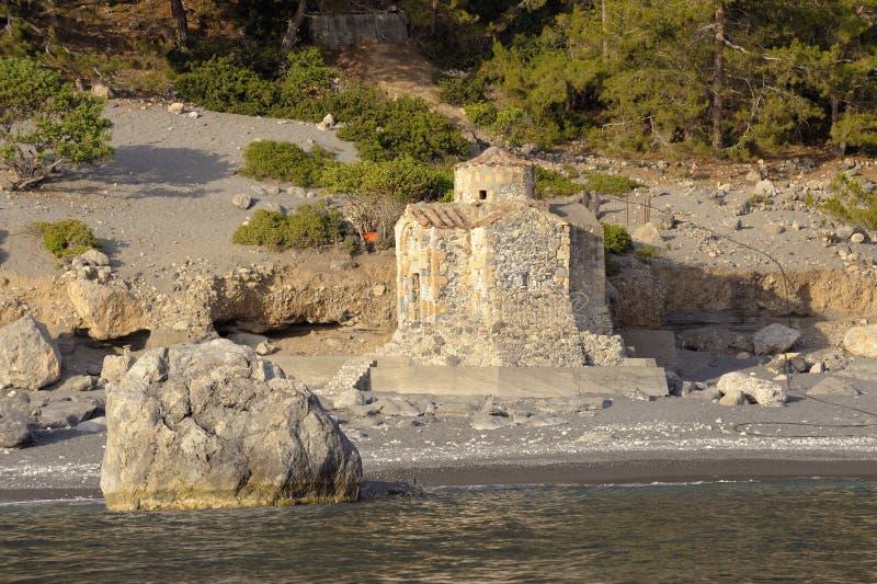 strandkyrka royaltyfri bild