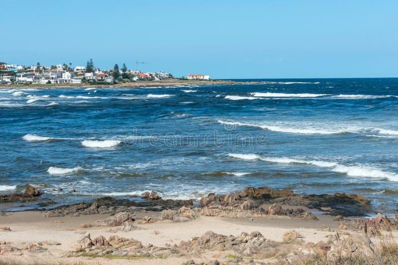 StrandLa Barra i Punta del Este, Uruguay royaltyfria foton