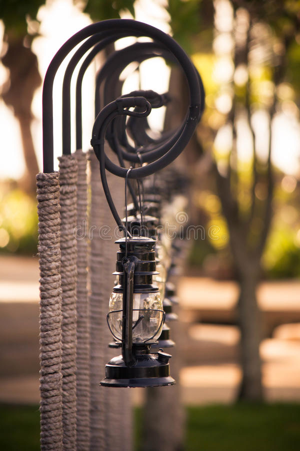 Strandlampe stockbilder