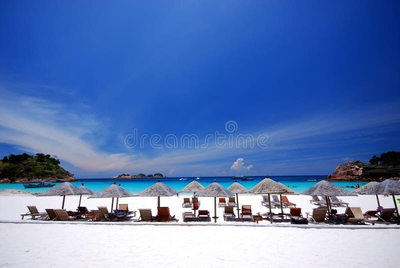 Strandlandschaft lizenzfreies stockfoto