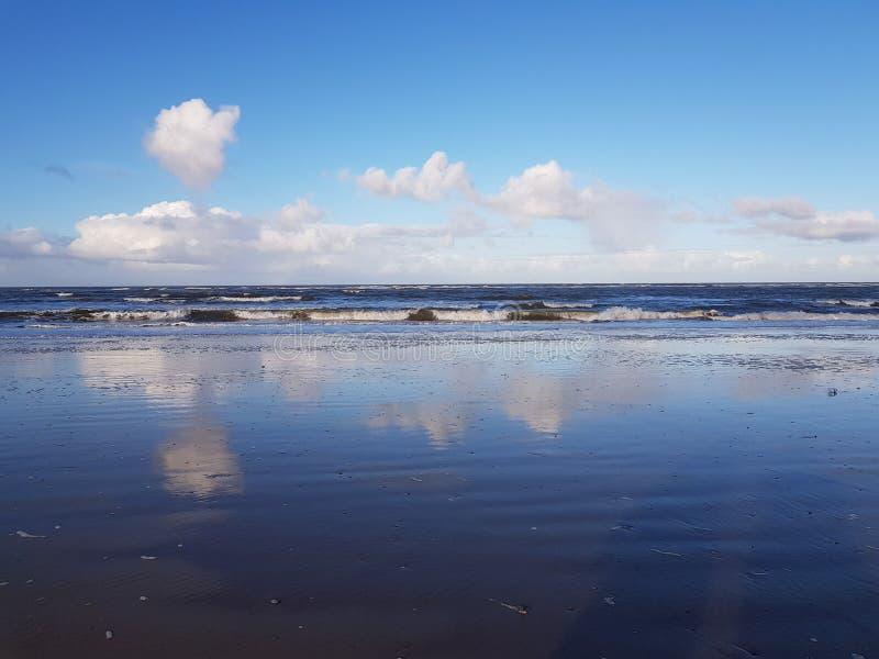 Strandlandskap arkivfoto