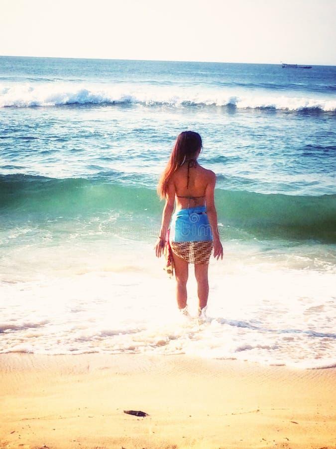 Strandliv arkivfoto