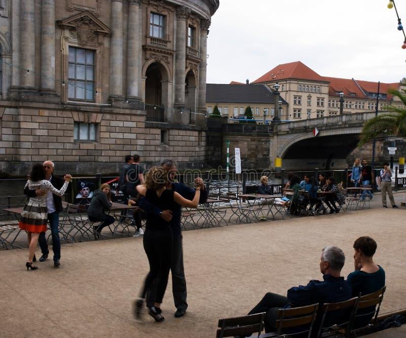 Strandbar Mitte tango stock photo