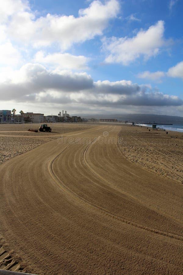 Strandnah an Hermosa-Strand Kalifornien in der Los Angeles County, Kalifornien, Vereinigte Staaten lizenzfreies stockfoto