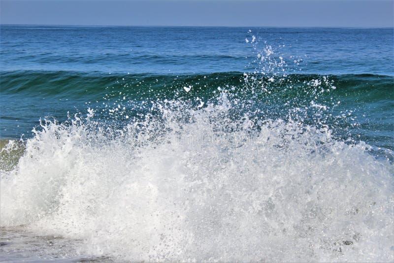 Strandnah an Hermosa-Strand Kalifornien in der Los Angeles County, Kalifornien, Vereinigte Staaten lizenzfreies stockbild