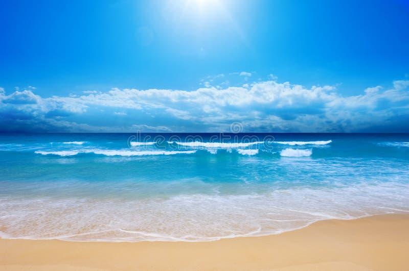 strandparadis royaltyfri fotografi