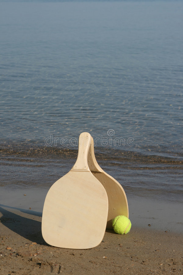 strandracket arkivfoto