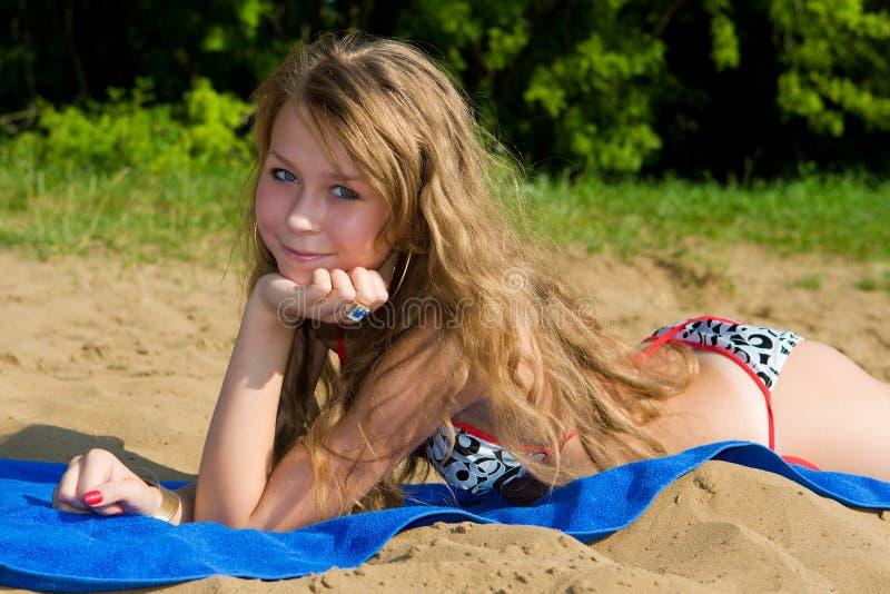 strandrest arkivfoton