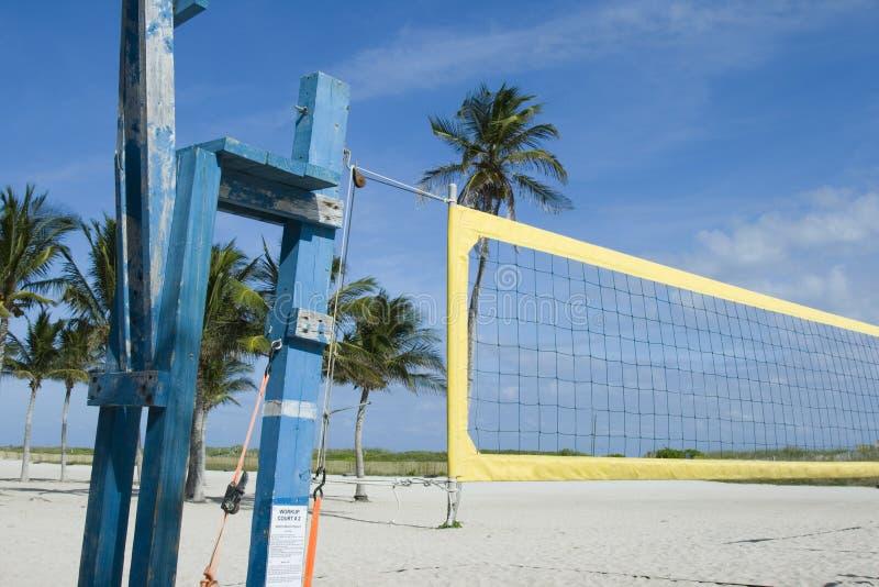 Strandsalve in Miami stockfotografie