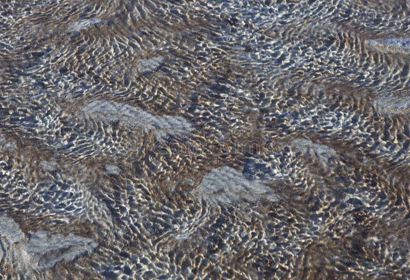 Strandsamenvatting royalty-vrije stock afbeelding