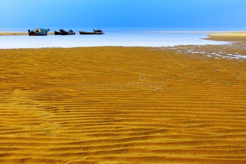 strandsand royaltyfri bild