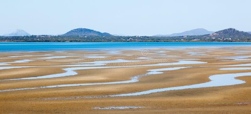 Strandscène het Noord- van Queensland royalty-vrije stock fotografie