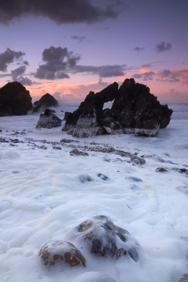 Strandschuim stock fotografie
