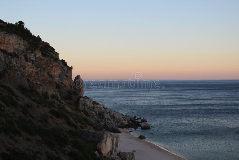 Strandseite lizenzfreie stockbilder