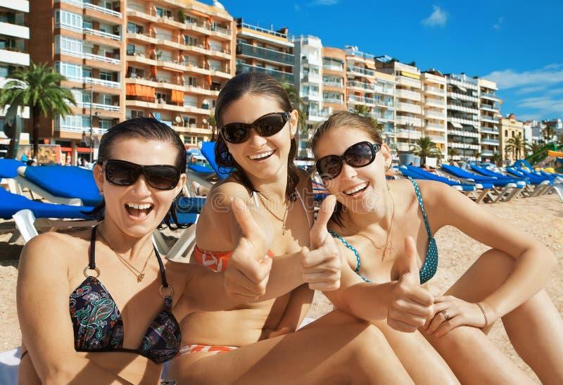 strandsemesterort fotografering för bildbyråer