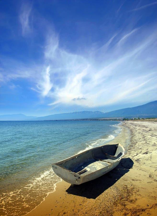 strandsommartid royaltyfria bilder