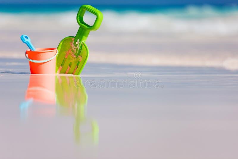 Strandspeelgoed stock afbeelding