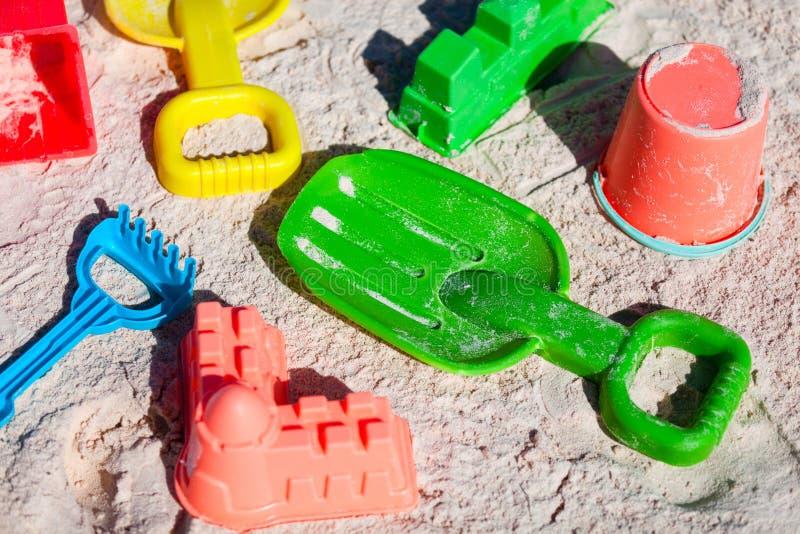 Strandspeelgoed stock afbeeldingen