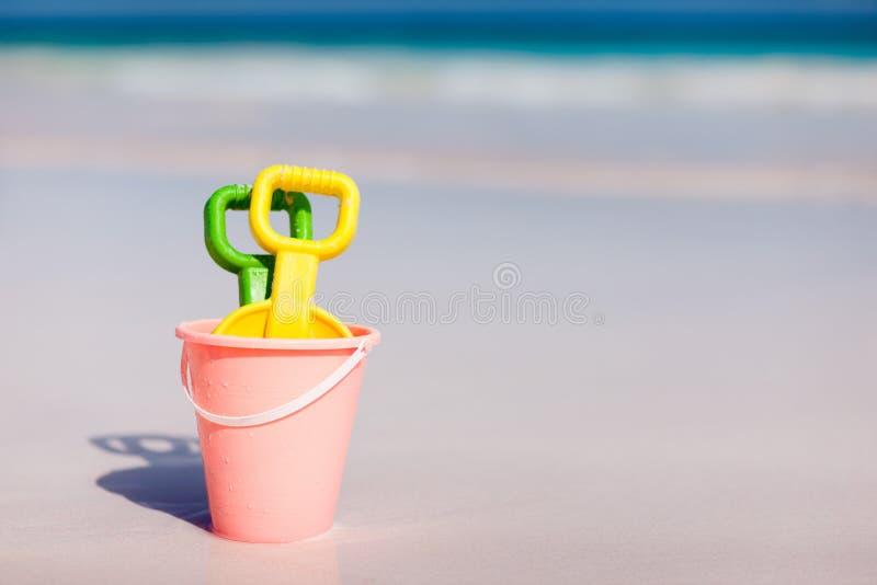 Strandspeelgoed royalty-vrije stock afbeelding
