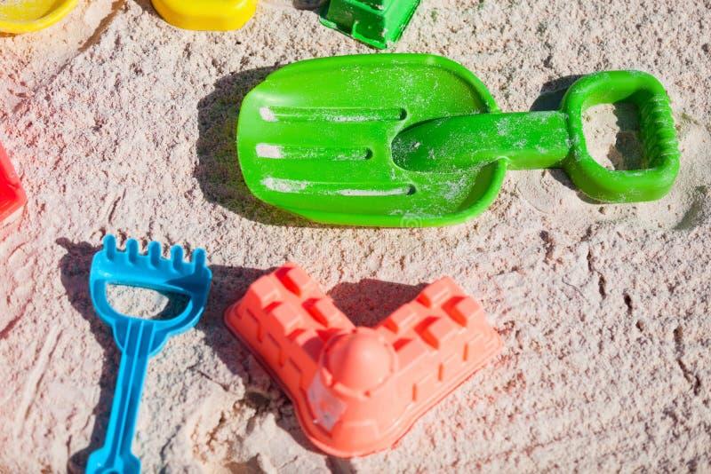 Strandspeelgoed royalty-vrije stock foto's