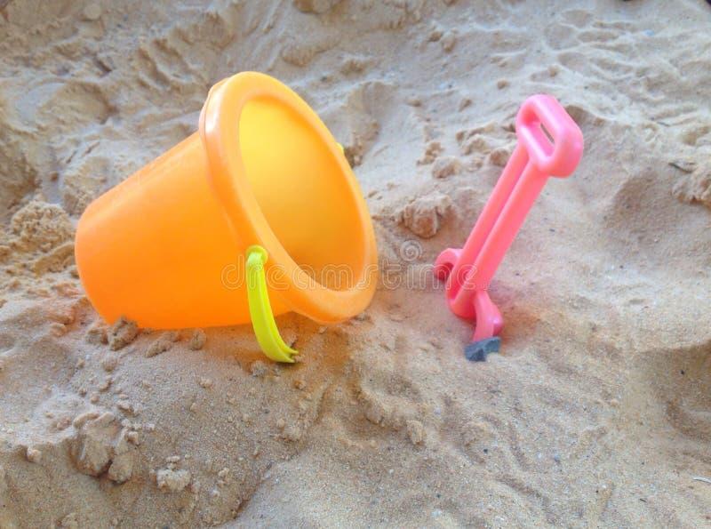 Strandspeelgoed royalty-vrije stock afbeeldingen
