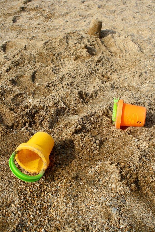 Strandspielplatz lizenzfreie stockfotos
