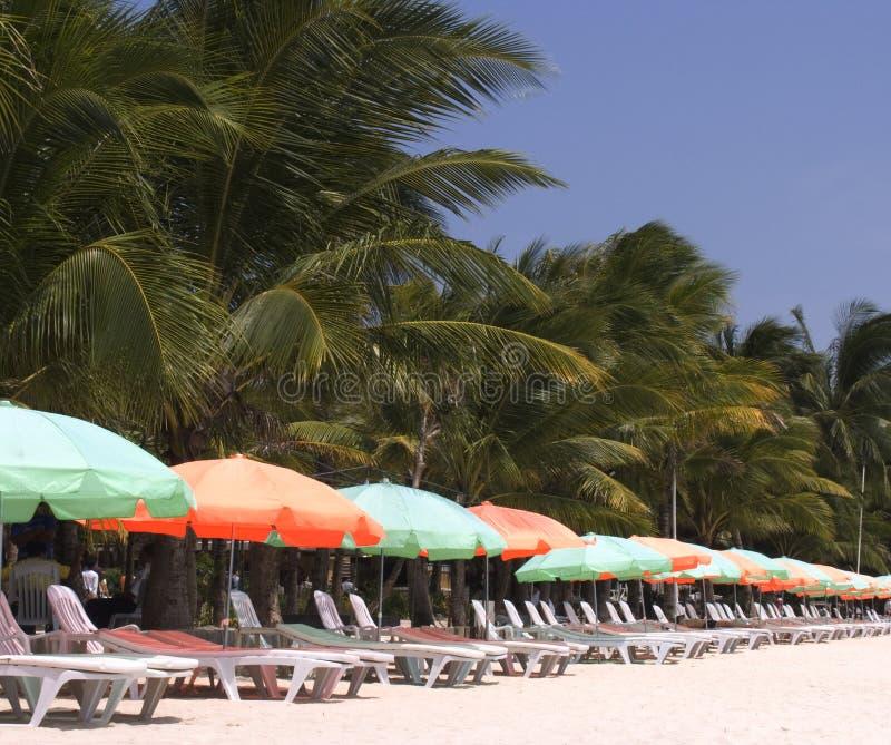 Strandstühle 2 lizenzfreies stockbild