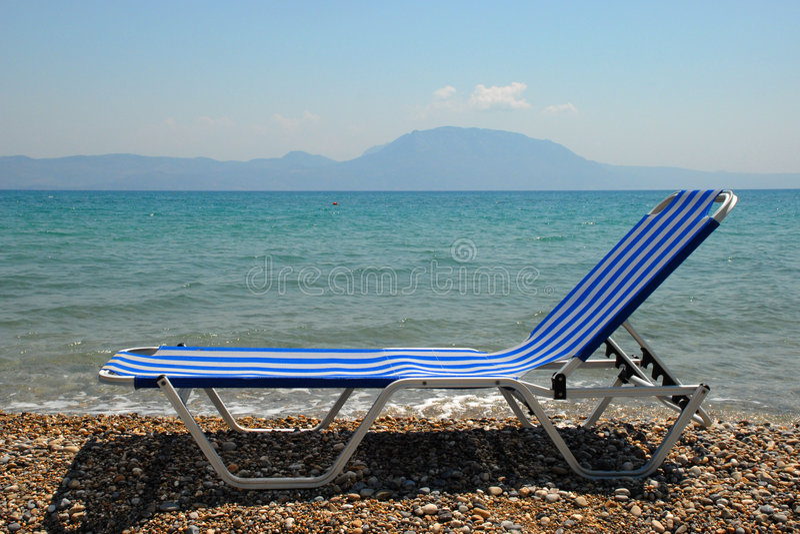 strandstol fotografering för bildbyråer