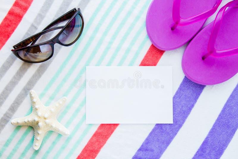 Strandszene lizenzfreie stockfotografie