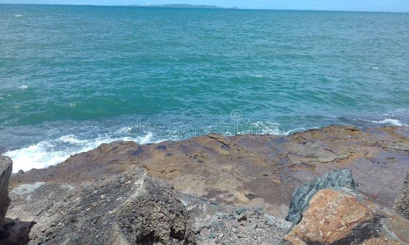 Strandtijd stock fotografie