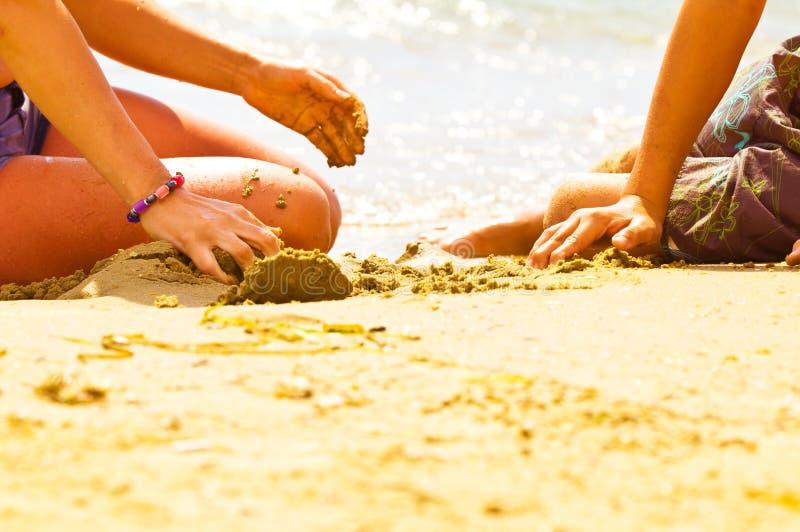 strandungar fotografering för bildbyråer