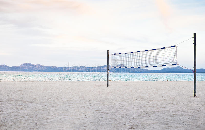 Strandvolleyball stock afbeeldingen