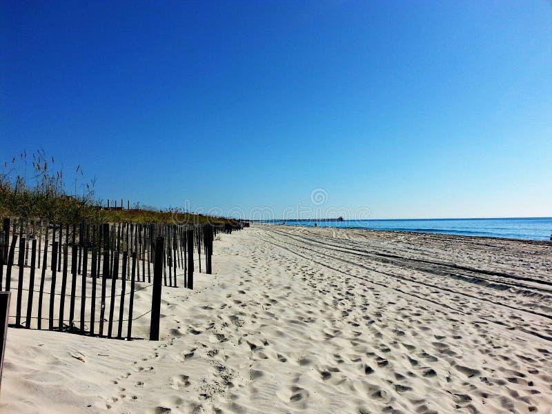 Strandwandeling stock foto