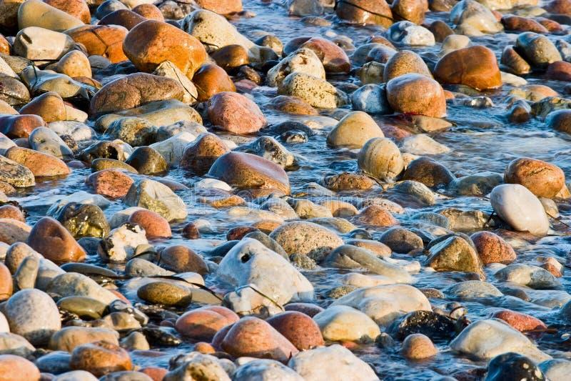 Strandwellen stockbilder